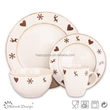 Promotion vaisselle porcelaine de no l acheter des vaisselle porcelaine de n - Set de vaisselle de noel ...
