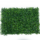 Plástico jardim decorativo de hedge buxo artificial grama plantas de interior painéis verticais artificial tapete verde