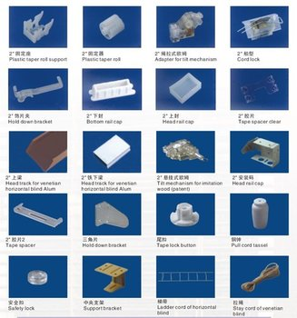 Pvc Wooden Bamboo Blinds Components Buy Blinds