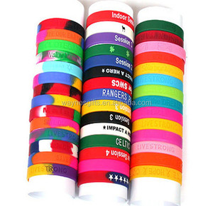 Hot Selling Good Quality Nice Design silicone hand bands Cheap custom silicone hand band