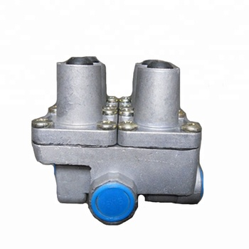Four circuit protection valve EQ153