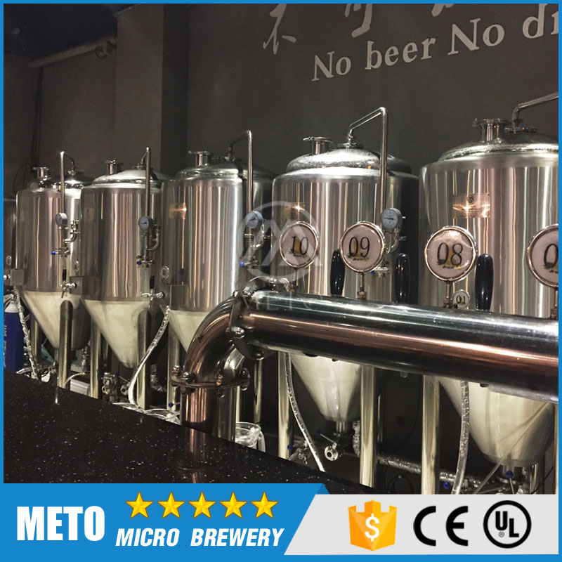 Pub Brewery Machine Set-up For Brewing Equipment With CE/UL Certification