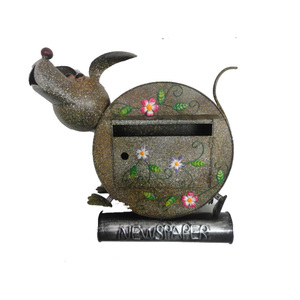 dog garden metal mailboxes for sale apartment building mailbox