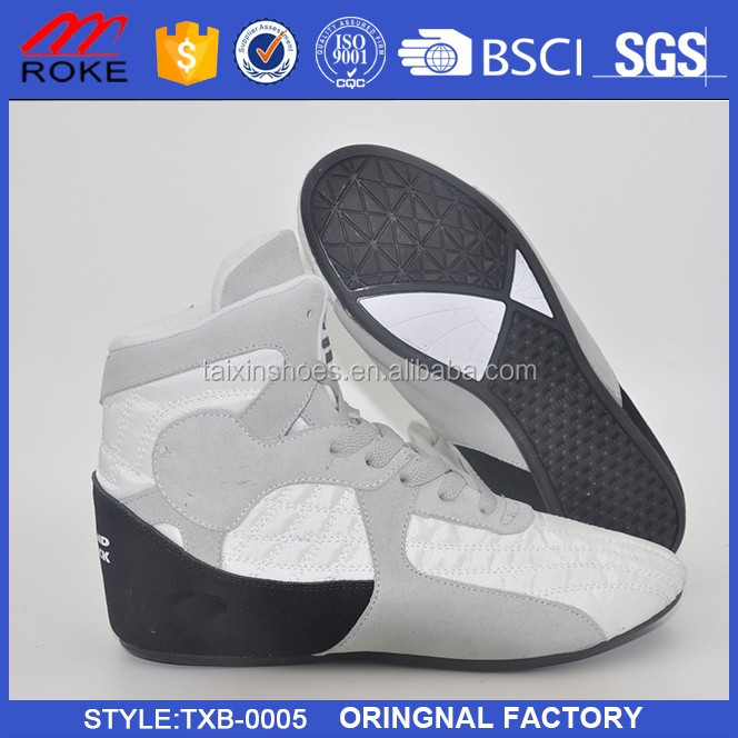 New Design Boxing Shoes Cheap Customized Fashion Wrestling Shoes