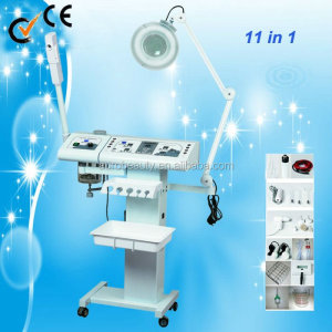11 in 1 Multifunctional skin care Facial Massager Cavitation machine Au-8208A