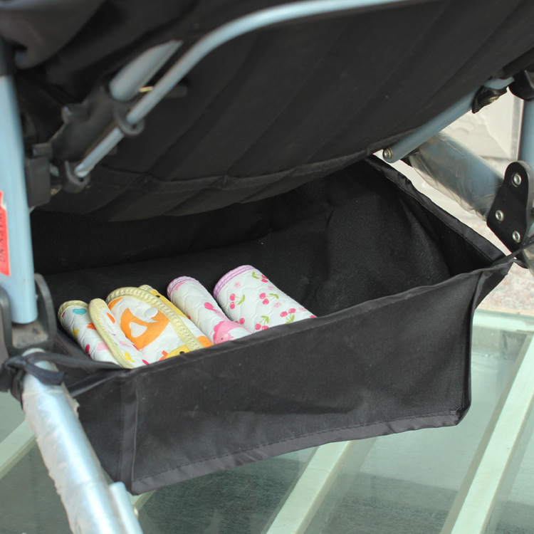 1pcs High quality Cotton Baby Stroller Accessories Bags Storage Basket Winter Waterproof Wholesale 2015 Hot Sale