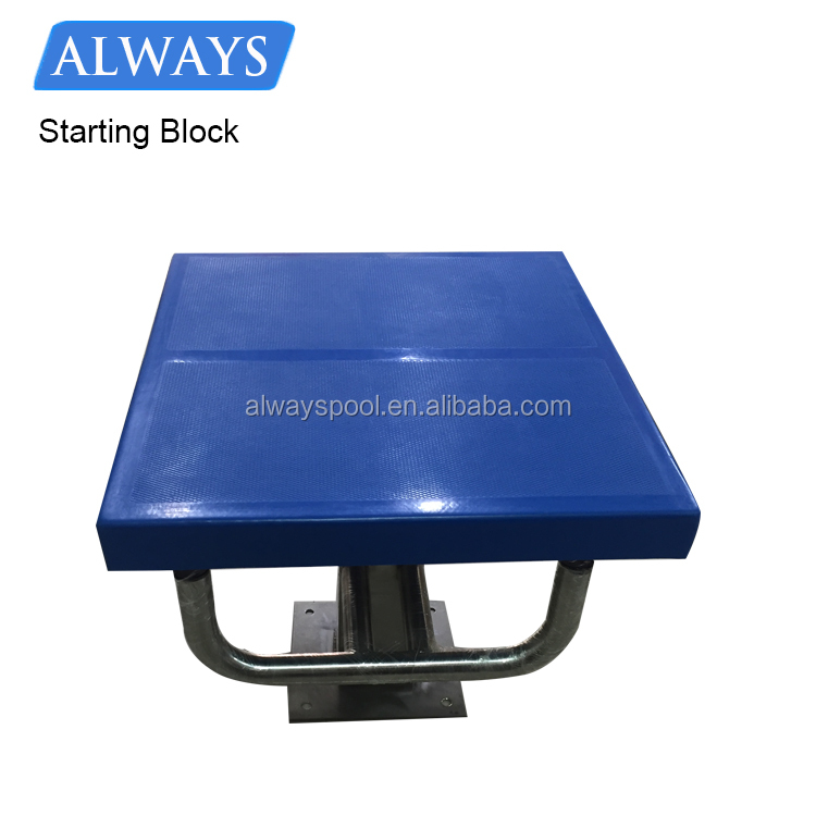 High Quality Diving Board Standard One Step Stainless Steel Swimming Pool Starting Block