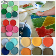 color Sand paintings paint different colors of sand mixed for educational toy material