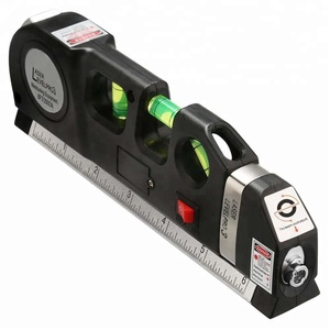 Self-leveling Magnetic Base and Battery Included 150ft/45m Outdoor Green Cross Line Laser Level