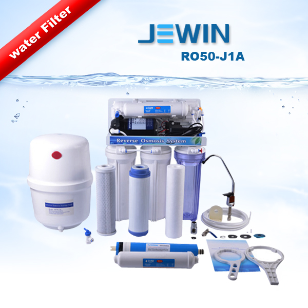 5 stage Under sink Reverse Osmosis RO System Water Filter