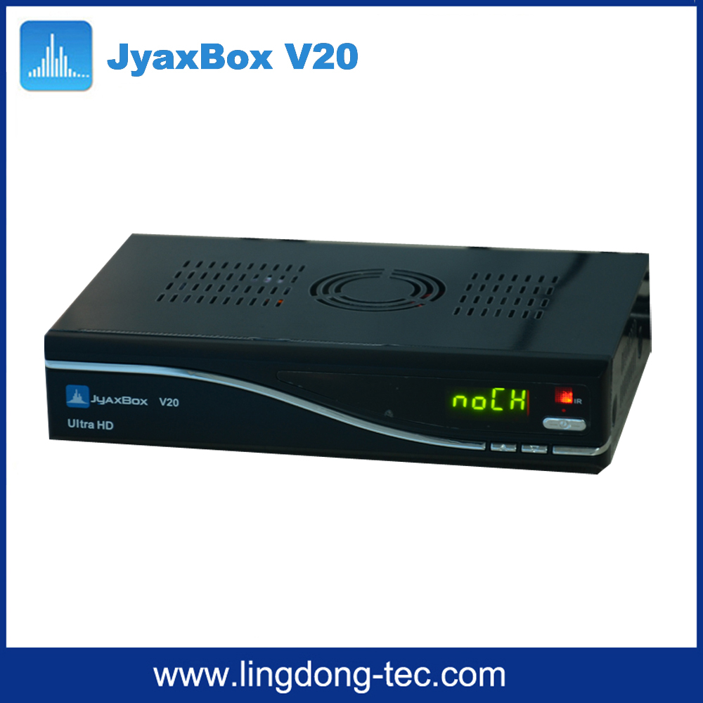 Digital Type and Yes FTA(Free To Air) JYAXBOX ultra hd v20 with jb200 and wifi 1080p hd for north america
