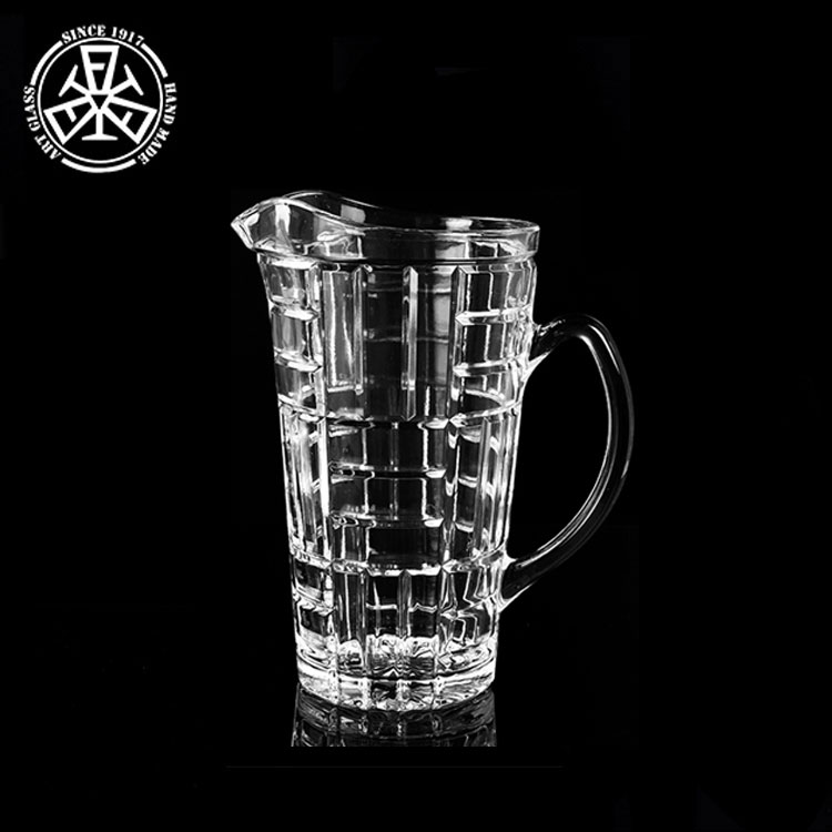 1.5L Vormige Decoratieve Glas Water Pitcher met 6 Cups Set