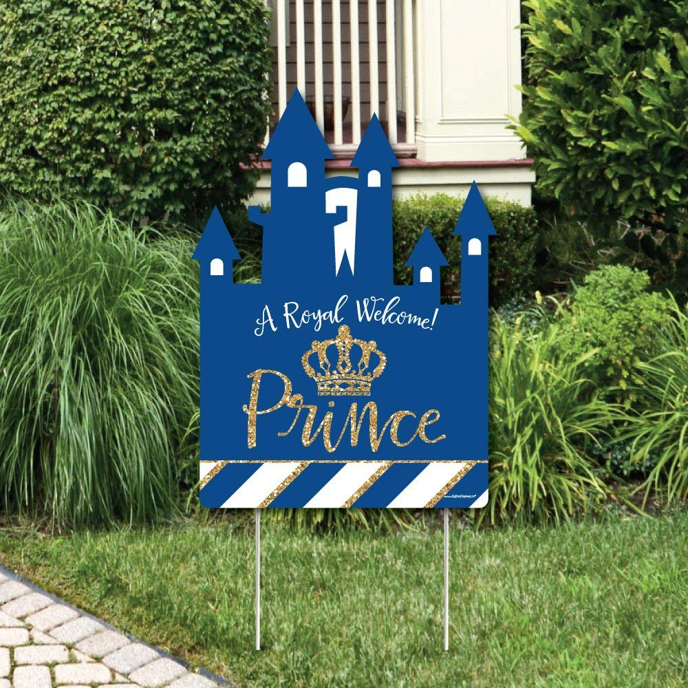Personalised Child//Baby On Board Car Sign ~ Nanas Princes On Board ~ D.Blue