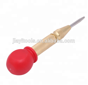 5 Inch With Red Cap Automatic metal Center Punch