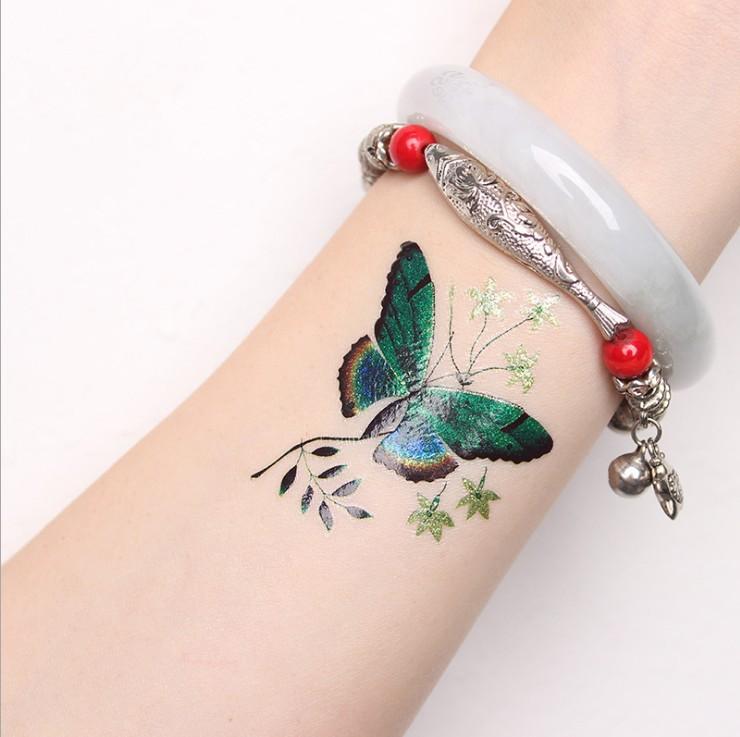 49cf32406 Flower Tattoos Butterfly Tattoo Designs For Women - Buy Butterfly ...