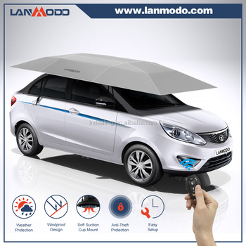 Patent holder Lanmodo1st generation automatic car umbrella shade car parking sun shade