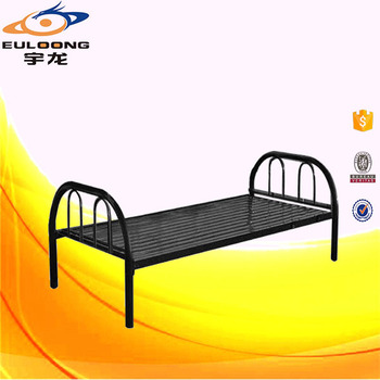 Second Hand Steel Frame Design Single Bed For Study Room,Office ...