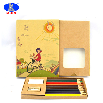 Promotional Customized Coloring Book Set With Pencil Hot Sale School ...