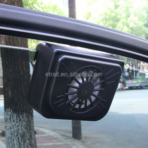 2017 new big size auto solar car fan ,solar power cooling fan for car