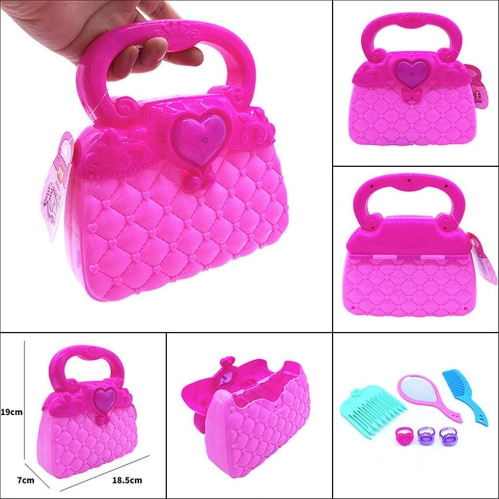 348b21ea0a1b Sunshinehomely Educational Toy Girl s Princess Pretend Play Toy Deluxe  Kawaii Handbag Toy for Kids