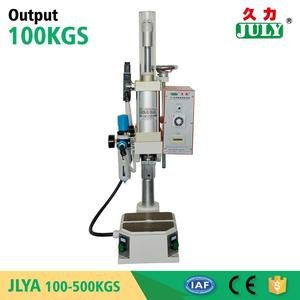 JULY brand small air pressure hole punching machine for plastics