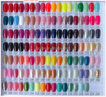 Gel Polish Beauty Choices Colored Uv Nail Kit Set With Lamp