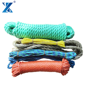 3 ply soft PP Packing Rope Polypropylene PP rope