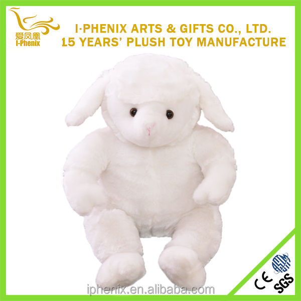 China manufacturer direct sale lovely plush lamb custom plush lamb for 2015 new year