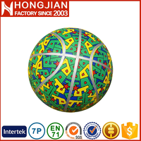 HB060 Size 7 / 6 / 5 / 3 / 2 / 1 # custom rubber basketballs