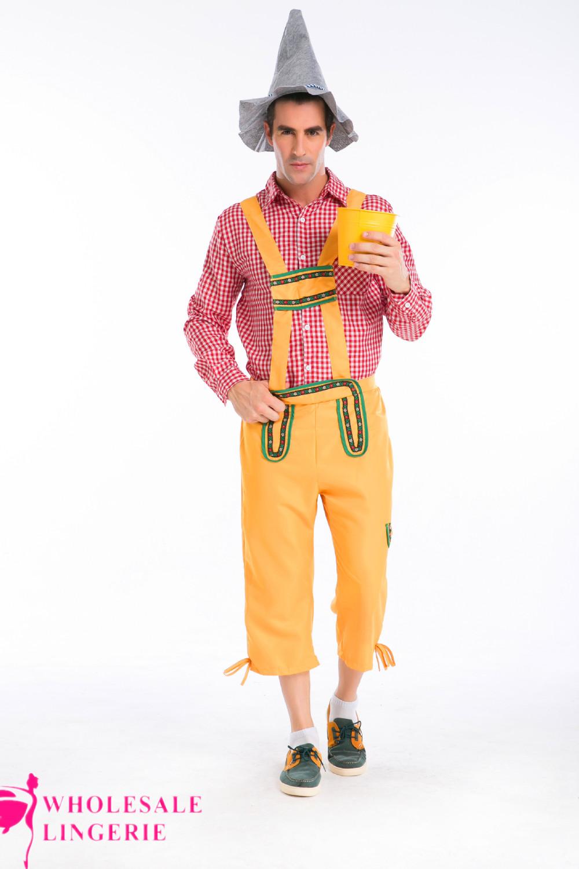 ... IMG_6639.jpg ...  sc 1 st  Alibaba & Bavarian Beer Man Lederhosen Oktoberfest German Adult Fancy Dress ...