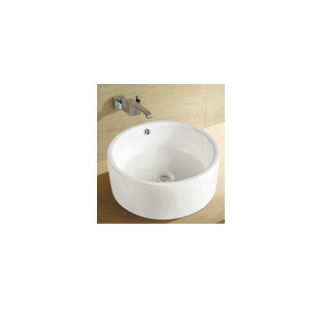 Table Top Ceramic Round Deep Basin Bathroom Sink Sinks Product On Alibaba