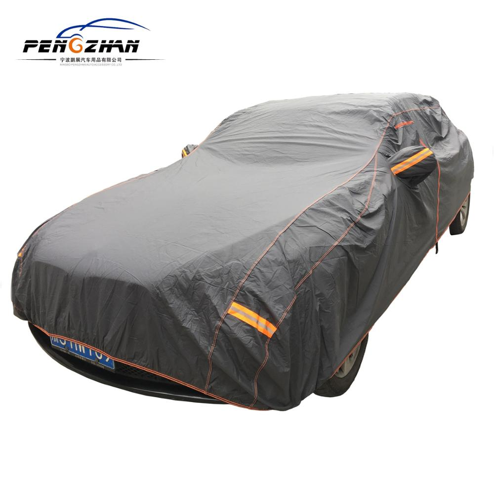 2019 new hot sale Outdoor Waterproof Polyester PEVA PVC Cotton Cover car