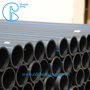 Long working pipe sdr 13.5 hdpe d30305 pe 3408 16in length 12 meter