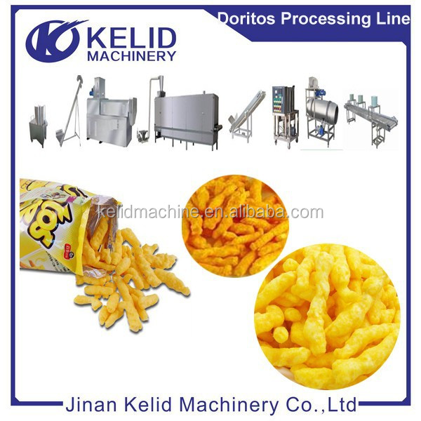 High Quality Automatic Corn Chips Production Line