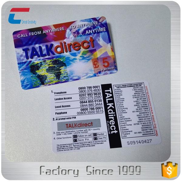 Pvc Prepaid Scratch Card/custom Printing Draw A Lottery/ Raffle ...