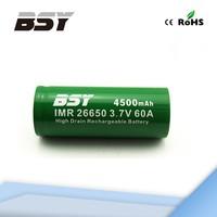 Good Performance Large Capacity Baisiyu 26650 Rechargeable Battery ryobi 18v lithium battery