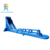 Outdoor commercial party rental blue color adult inflatable water slide for sale