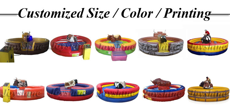 Factory Cheap Kids Adults Simulation Inflatable Mechanical Rodeo Bull Ride Machine Wholesale Mechanical Riding For Sale Used