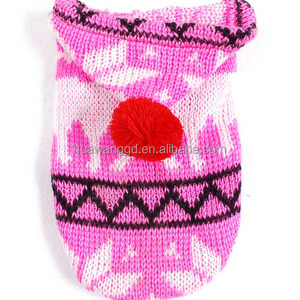 Custom sweater for dog, pet hand crochet, hand knitted wool sweaters for pets, pet dog garment factory