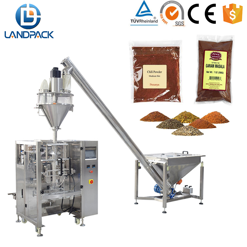 500g Coco/Chili/Pepper/Curry/ Spices Powder Packaging Machine