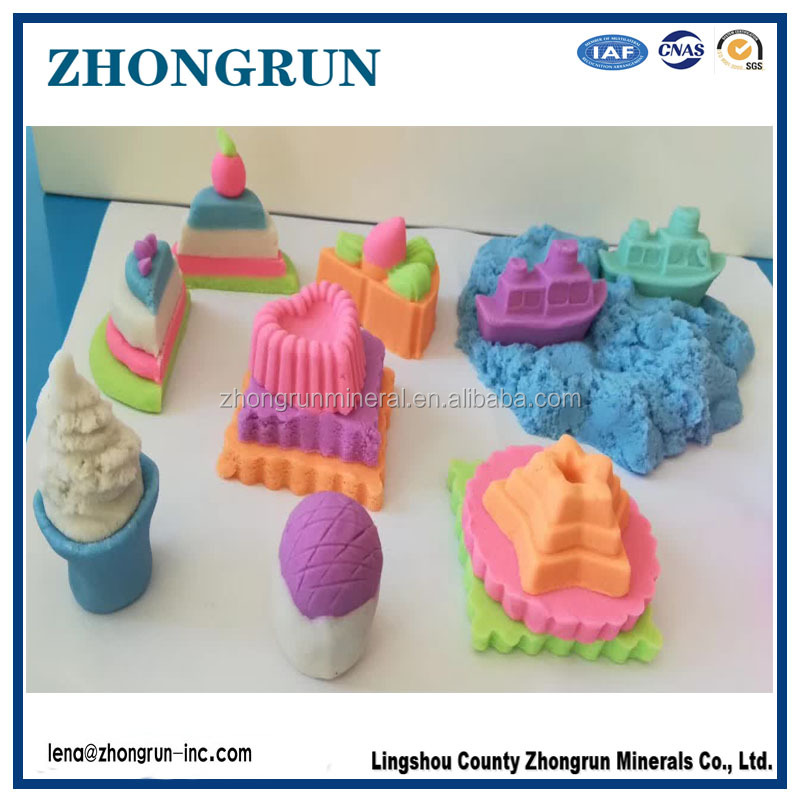 3D space silica educational toys magic sand for sale with sand model