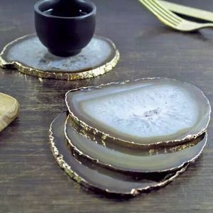 Natural agate plates agate slice wholesale