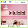 economic and eco-friendly interior emulsion wall paint with low price