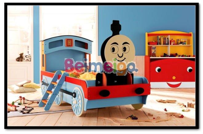 Thomas tren ni os cama cama ni o cart n dise o camas para - Camas tren para ninos ...