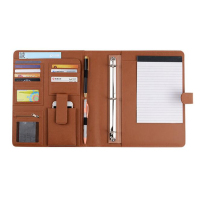 Professional Business Padfolio Organizer Custom Leather Portfolio
