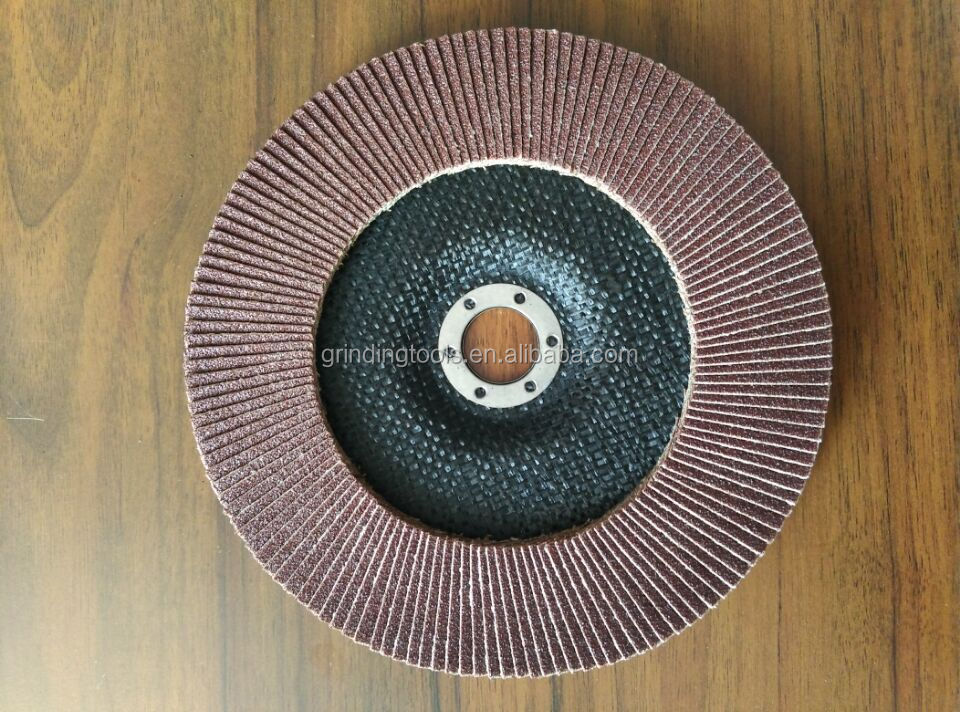 T29 7'' 180x22mm fiberglass backing plate for flap disc with Klingspor abrasives sanding cloth
