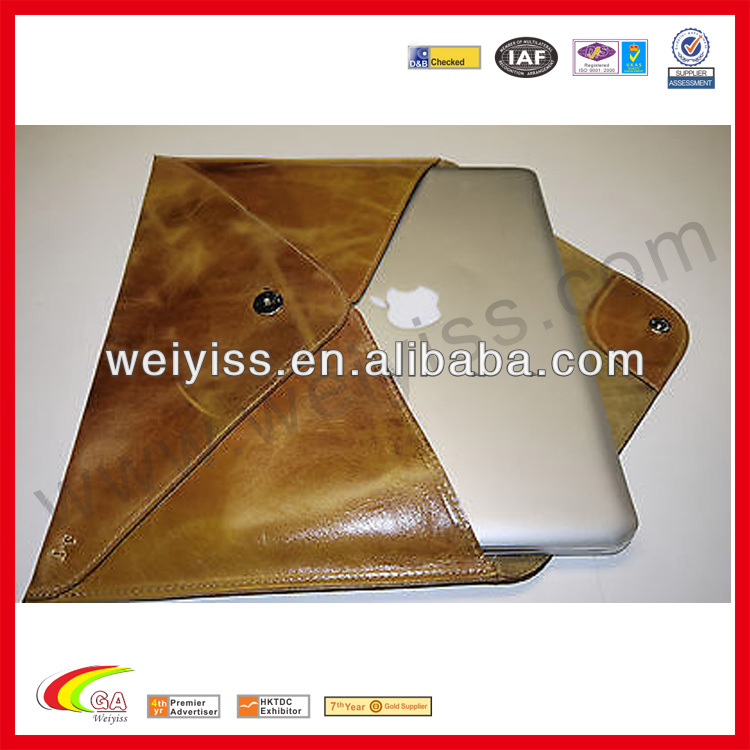 For apple laptop macbook pro leather case for laptop macbook pro