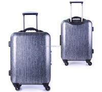 smart trolley luggage with bluetooth TSA lock,built-in weight scale,USB charging and distance alert