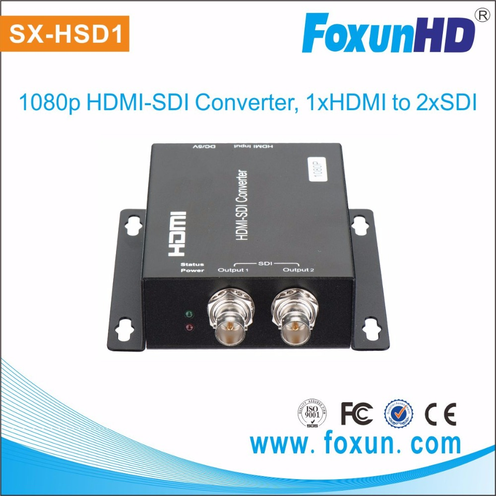 high performance HDMI to SDI Converter, with 2 SDI outputs Convert HDMI to SD/HD/3G-SDI hdmi Converter