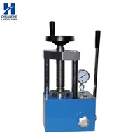 24T laboraory Portable powder Infrared Manual Hydraulic Press Machine